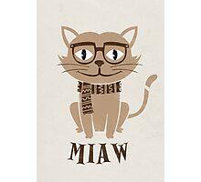 CAT QUOTES Photographic Print