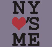 New York Loves Me Kids Tee