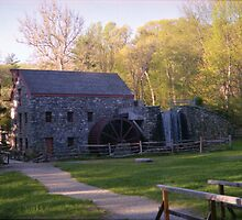 Wayside (MA) Grist Mill by Dennis Knecht