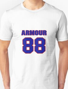 National football player Justin Armour jersey 88 T-Shirt