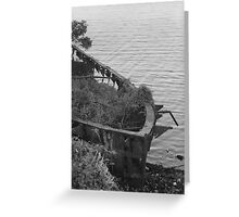 Manning River Milk Boat Greeting Card