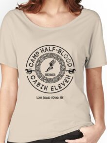 Percy Jackson - Camp Half-Blood - Cabin Eleven - Hermes Women's Relaxed Fit T-Shirt