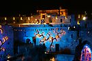 Castle of David special lights by Moshe Cohen