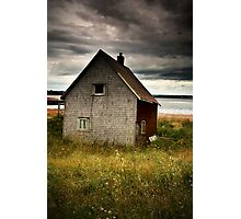 Beach Hut Photographic Print
