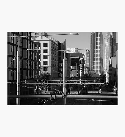 Melbourne Morning Streetscape Number 2 Photographic Print