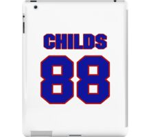 National football player Henry Childs jersey 88 iPad Case/Skin