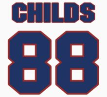 National football player Henry Childs jersey 88 by imsport