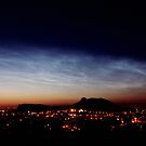 Noctilucent cloud over Arthur's Seat by Duncan Waldron