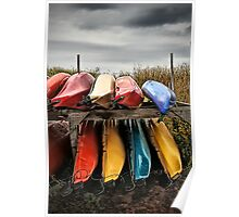 Colourful Canoe's Poster