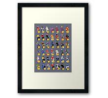 the captains Framed Print