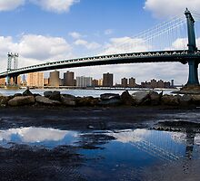 Manhattan Bridge by Michael Walton