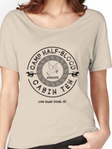 Percy Jackson - Camp Half-Blood - Cabin Ten - Aphrodite Women's Relaxed Fit T-Shirt