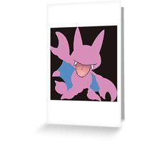 The Johto Bat Greeting Card