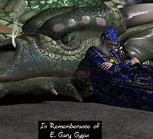 Tribute to E. Gary Gygax by AxeSwipe