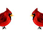 Two Cardinals by Penny Marcus