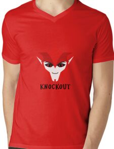 Prime Knockout Mens V-Neck T-Shirt