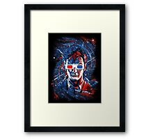 Doctor 10 3D Framed Print