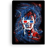 Doctor 10 3D Canvas Print