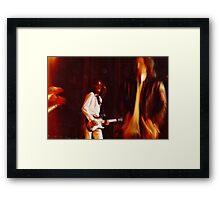Captain Beefheart and his Magic Band--1973 Framed Print