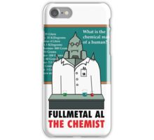 Fullmetal Al The Chemist iPhone Case/Skin