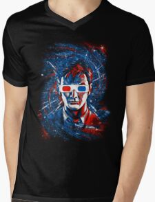 Doctor 10 3D Mens V-Neck T-Shirt