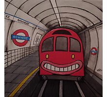 Nowhere Tube Photographic Print
