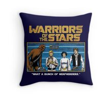 Warriors of the Stars Throw Pillow