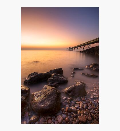 Clevedon Pier Photographic Print