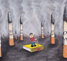 Smoking Lake by Ross Hendrick