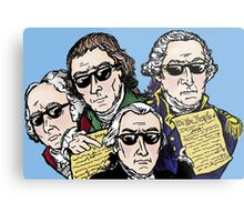 Founding Father Dudes Metal Print