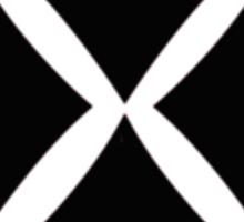 Minimalist Harley Quinn v4: 4 Black Diamonds Sticker