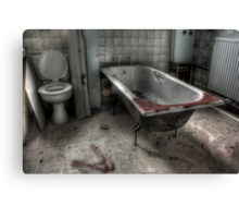 The Bathroom Canvas Print
