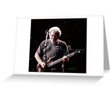 Jerry Garcia, Madison Square Garden Greeting Card