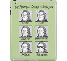 The Moods of George Washington iPad Case/Skin