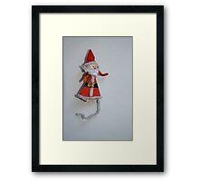 1940 vintage Father Christmas Framed Print