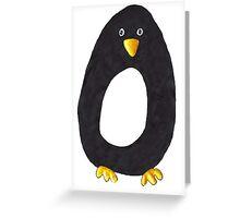 Ben Penguin Greeting Card