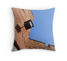 Underneath the castle walls Throw Pillow