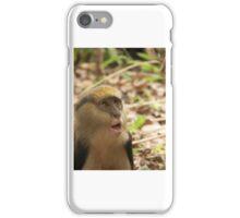 Surprised monkey iPhone Case/Skin