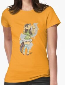 Fluttershy Womens Fitted T-Shirt