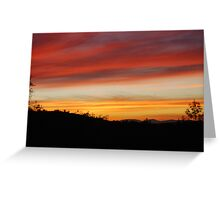 Blue Point Sunsets 10 Greeting Card