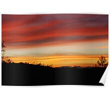 Blue Point Sunsets 10 Poster