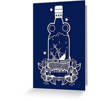 FLOAT OR DROWN - WHITE Greeting Card