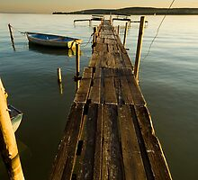Sunset jetty #2 by Csaba Jekkel