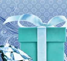Tiffany Blue Box & Huge Diamond Sticker