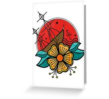 SINKING SHIP Greeting Card