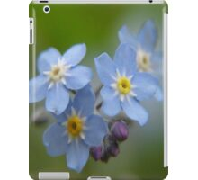 The Forget-Me-Nots of the Angels Greeting Card Quote iPad Case/Skin
