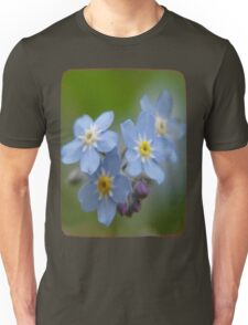 The Forget-Me-Nots of the Angels Greeting Card Quote Unisex T-Shirt