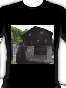 HDR Composite - Mill at Riverside by Dam T-Shirt