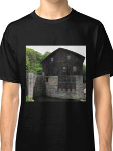 HDR Composite - Mill at Riverside by Dam Classic T-Shirt
