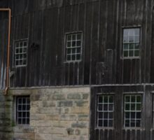 HDR Composite - Mill at Riverside by Dam Sticker